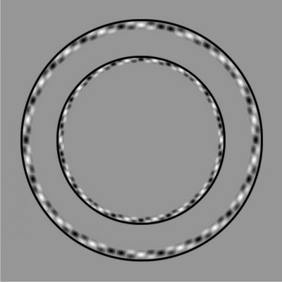 Illusion optique  - Cercles parfaits ou déformés?