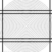 Illusion d'optique géométrique - Lignes droites ou courbées?