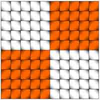 Illusion d'optique géométrique - Lignes droites ou pas?