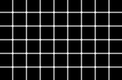 Illusion d'optique de points