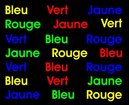 La couleur des mots illusion-optique-stroop
