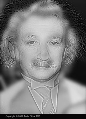 Illusion d'optique artistique Monroe Einstein