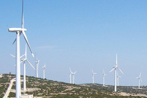 Parc éolien dans l'Aude