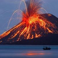 Comment se forme une éruption volcanique?